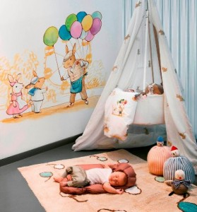 """Coordonné Kids: Alfombras """"Bunny´s Day Out"""""""
