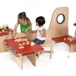 Green Play Furniture: Divertidas mesas para niños 2012