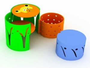 Muebles para peques 'Can-can' by Baita Design